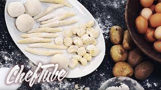 How to make potato dumplings, potato noodles and gnocchi