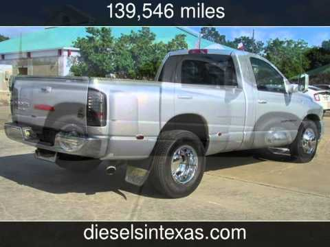 2005 Dodge Ram 3500 Dually >> 2005 Dodge Ram 3500 Dually Regular Cab 2wd ST Used Cars - Fulshear,Texas - 2014-05-23 - YouTube