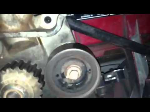 how to do a water pump and timing on a 2000 to 2004 focus