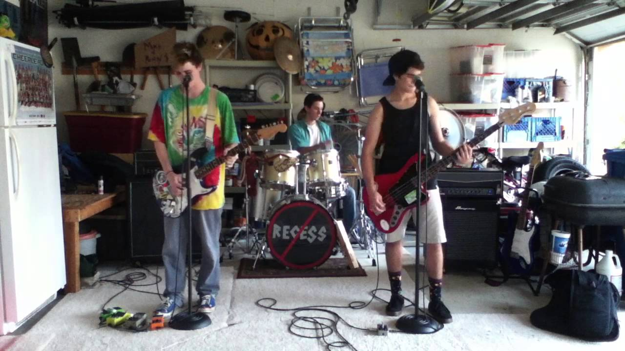 In The Garage By Weezer Band Cover