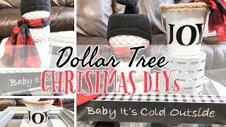 DOLLAR TREE CHRISTMAS IN JULY DIY|  BUFFALO CHECK DECOR | DOLLAR TREE DIY