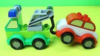 Про машинки - Машинки в Lego мультике - Эвакуатор и пожарная машинка - Игрушки для мальчиков(, 2015-01-18T07:13:25.000Z)