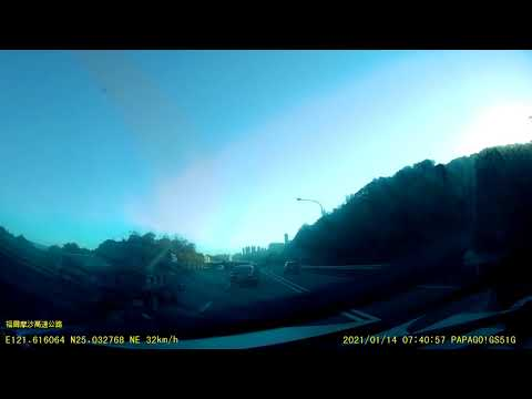 【ANSONBLACK】 車輛違規跨差點發生車禍!