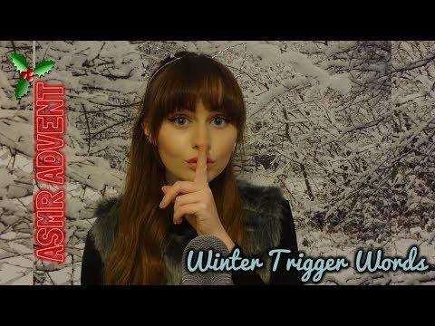 Whispering Winter Trigger Words~ ASMR ADVENT