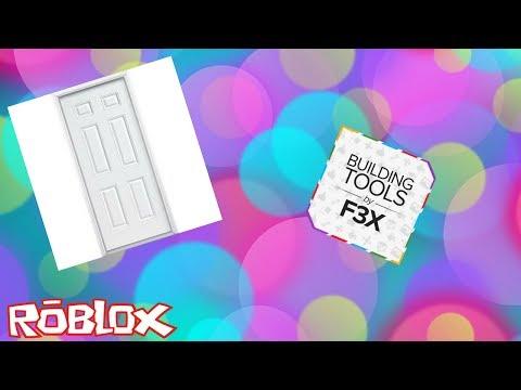 How To Make A Walkthrough Door Using F3x Tutorial Youtube