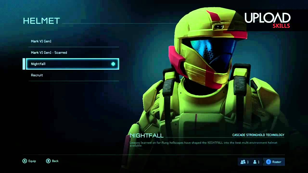 Halo 5 Beta Nightfall Armour Unlock Youtube