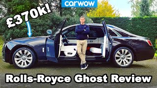 Rolls-Royce Ghost 2021 review - see why this car is worth £370,000