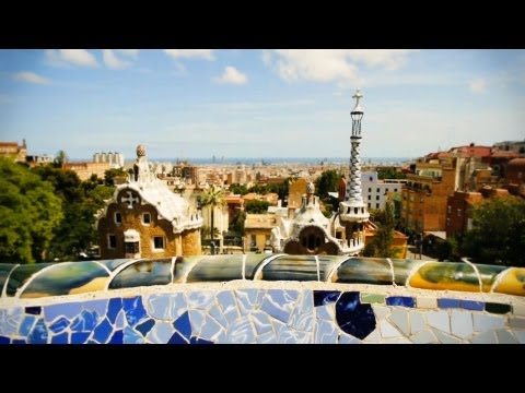 Barcelona, Spain ART TRAVEL video