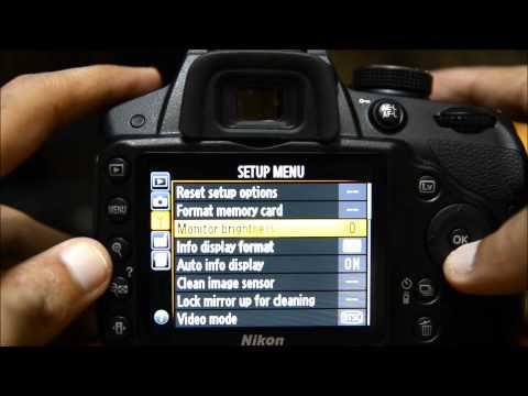 Nikon D3200 Tutorial - How to Set Up Nikon D3200 Menu Guide Tutorial