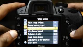 Фотокамерою Nikon D3200 туторіал - як налаштувати Никон керівництво меню фотокамерою D3200 керівництво