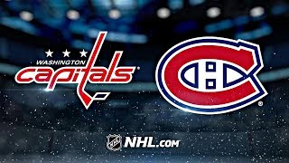 вашингтон - Монреаль  НХЛ обзор матчей 28.01.2020  Washington Capitals vs Montreal Canadiens