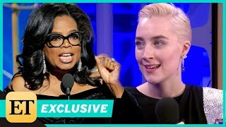 Saoirse Ronan Really Wants Oprah to Run for President: 'She's Perfect!' (Exclusive)