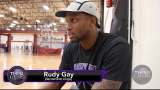 Thru The Lens: (DAY IN THE LIFE) S2; Ep1 - Life of a King - Rudy Gay