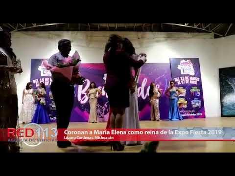 VIDEO Coronan a María Elena García como reina de la Expo Fiesta 2019