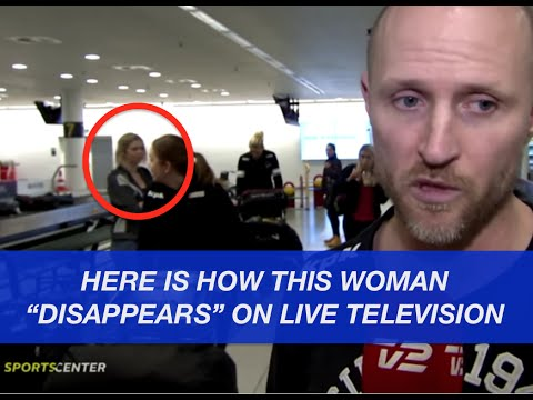 Solved? The mysteriously disappearing woman explained!