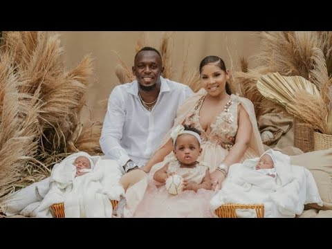 Usain Bolt and partner welcome newborn twins Thunder and Saint ...