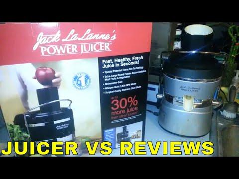 Jack Lalanne POWER JUICER vs POWER JUICER ELITE ( review part by part ) Juicing Reviews & Compare