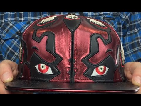ece8aabb69006 Darth Maul  CHARACTER FACE  Fitted Hat by New Era - YouTube