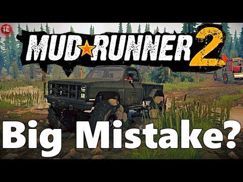 Is SpinTires MudRunner 2: Still a BIG MISTAKE?