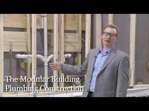 Prefab Modular Building Plumbing and Finishing Construction