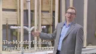 Prefab Modular Building Plumbing And Finishing Construction