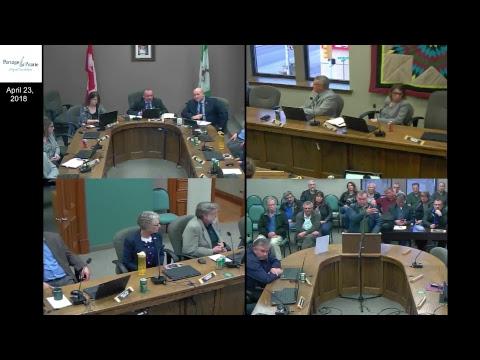 City of Portage la Prairie Council Meeting April 23rd, 2018