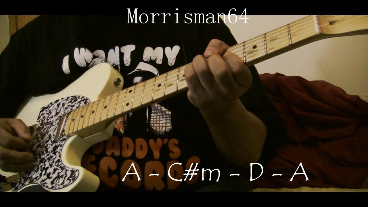 Grateful Dead Althea Guitar Chords Lesson Youtube