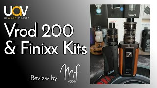 Aspire Vrod 200 & Finixx Kits - Full Review & Rundown - Guroo or Gurdo? - Timestamps in description