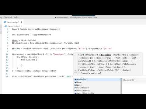 Repeat PowerShell Universal Dashboard - Forms Authentication