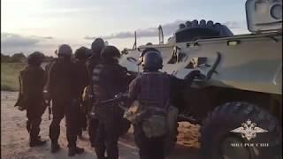Задержание опасных вооруженных преступников в Волгограде