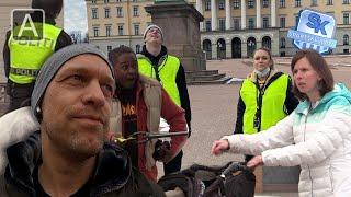 Ida og Erik må være corona-politi - Skjult kamera