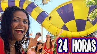 24 HORAS NO SUPER PARQUE AQUATICO !!!