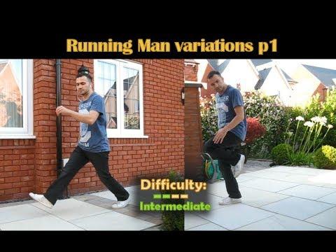 Electro Swing Dance Tutorial - 4) Running Man variations p1