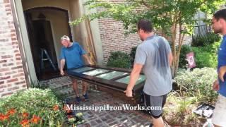 Mississippi Iron Works | Door Installation