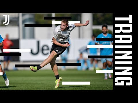 TRAINING ON THE FIELD WITH CHIERI   KEAN SCORES A BRACE   JUVENTUS