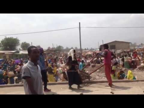 Etiyopya Pazar Yerinden Manzaralar