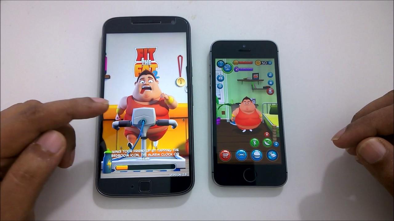 moto g4 vs iphone 6