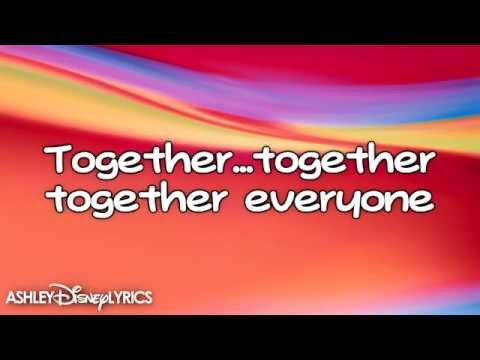High School Musical  Were All In This Together lyrics HD