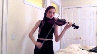 Partition - Beyonce (Violin cover by Molly Fletcher)