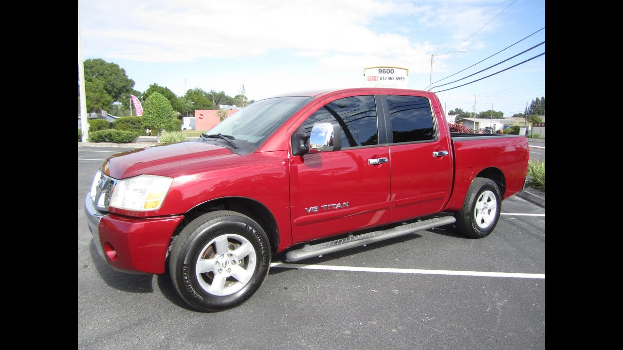 sold 2006 nissan titan crew cab se 2wd meticulous motors. Black Bedroom Furniture Sets. Home Design Ideas
