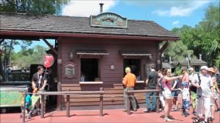 Westward Ho Refreshments in Magic Kingdom (HD 1080p)