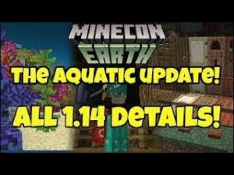 Minecraft Ocean Update - Early Gameplay | Minecon Earth 2017