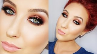 Chocolate Cranberry Smokey Eye - Talk Thru Tutorial | Jaclyn Hill