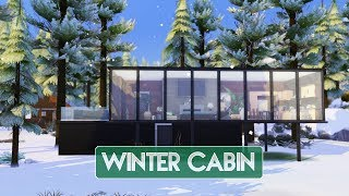 Sims 4 | House Building | Winter Cabin (Seasons Expansion Pack)