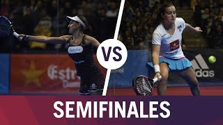 Resumen Semifinal Femenino Alejandra/Marta VS Ortega/Ariana | Estrella Damm Catalunya Master