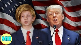 Kids Act Out Donald Trump's Policies