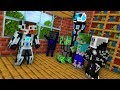 MONSTER SHOOL : BREWING ROBOT CHALLENGE - Minecraft Animation