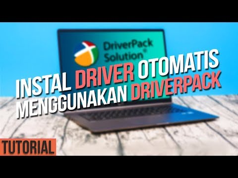 Tutorial Install Driver Laptop/PC Menggunakan DriverPack Solution