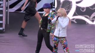 121110 2NE1 - I Love You Rehearsal @ SBS Kpop Super Concert