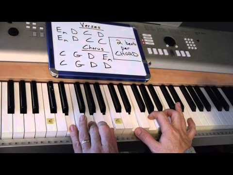 There is Power - Lincoln Brewster | Easy-to-Play Piano Lesson | Matt McCoy
